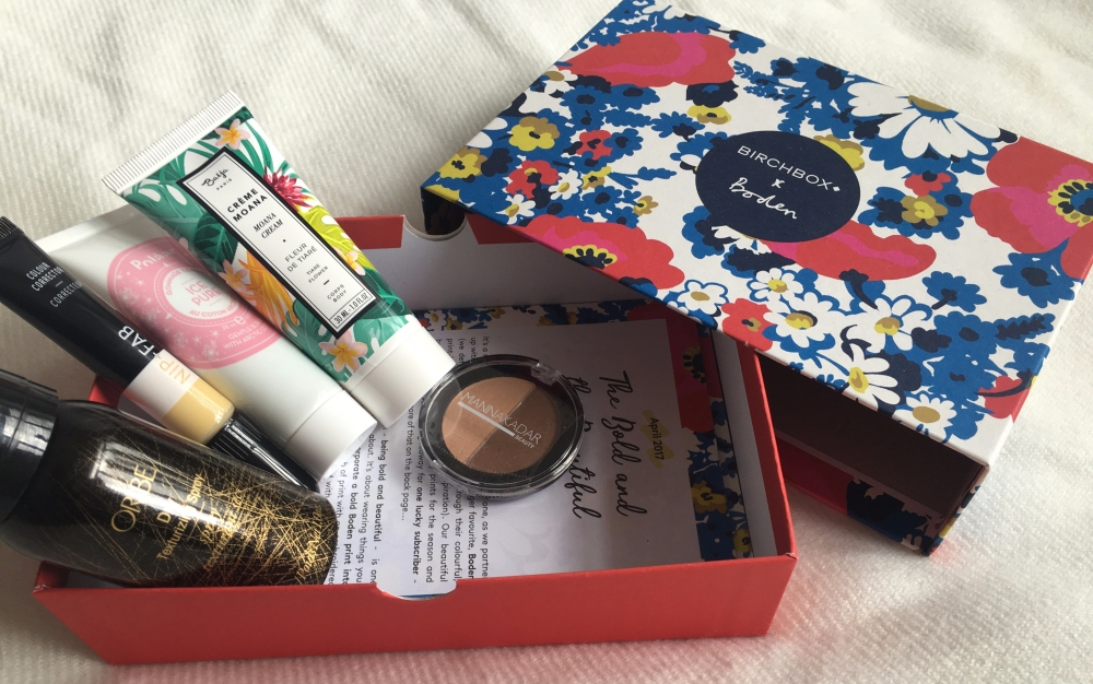 April Birch Box